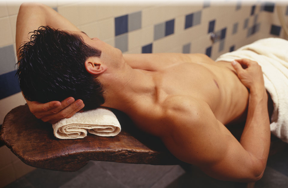 Rubgay Athletic Boy Massage